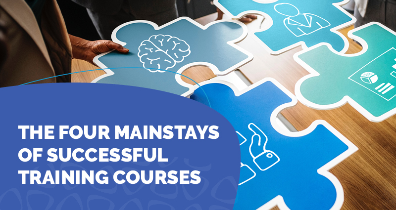 New e-Book: The Four Mainstays of Successful Training Courses: the Brain, the Human Factor, Managers, and Data